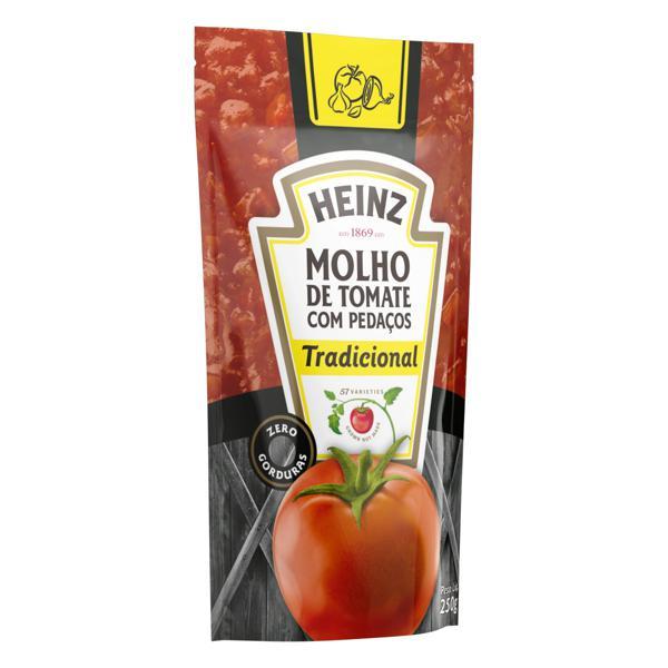 Molho de Tomate em Pedaço Tradicional Heinz Sachê 250g