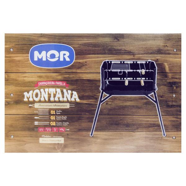 Churrasqueira a Carvão Montana Mor