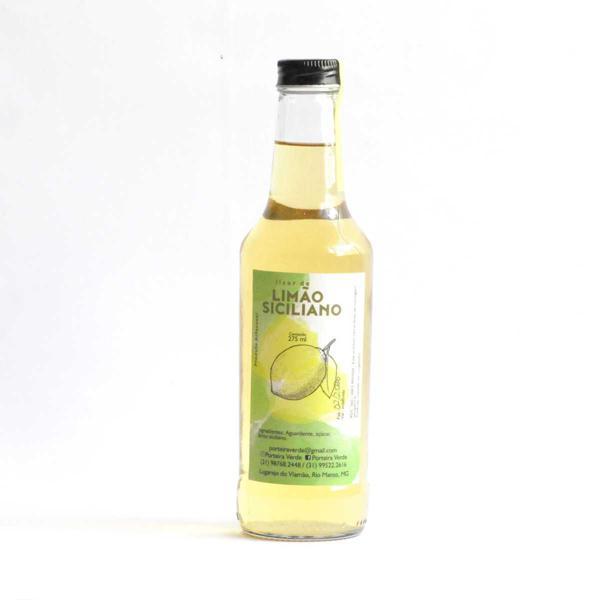 Licor de Limão Siciliano 275ml - Porteira Verde