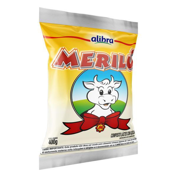 Composto Lácteo com Açúcar Merilú Pacote 400g