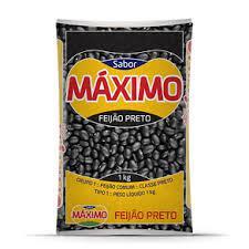 Feijão Preto SABOR MAXIMO 1Kg