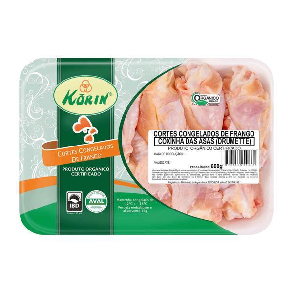 Coxinhas das Asas KORIN Orgânica 600g