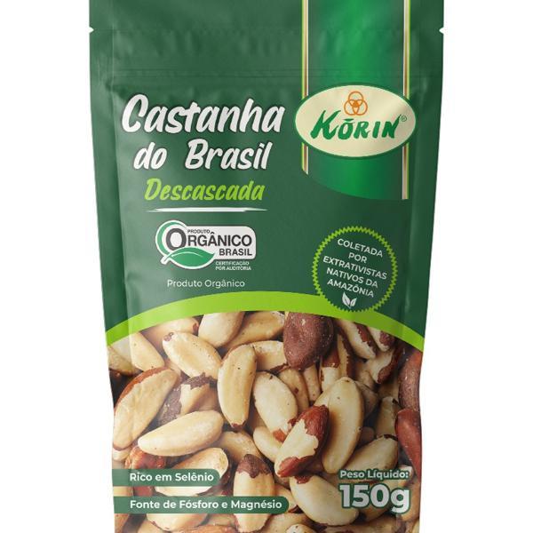 Castanha Do Brasil Korin Organico 150G