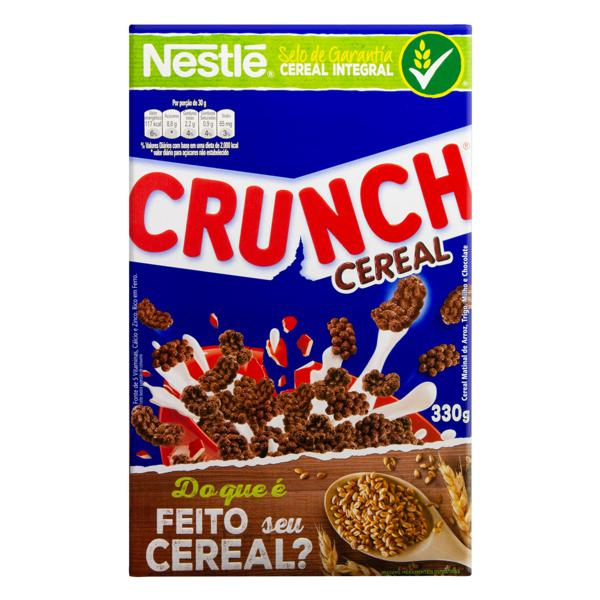Cereal Matinal Chocolate Nestlé Crunch Caixa 330g