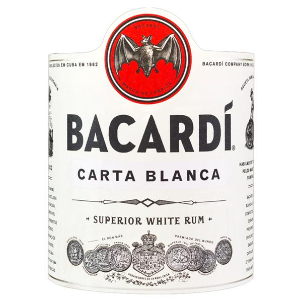 Rum Brasileiro Carta Branca Bacardi Garrafa 980ml