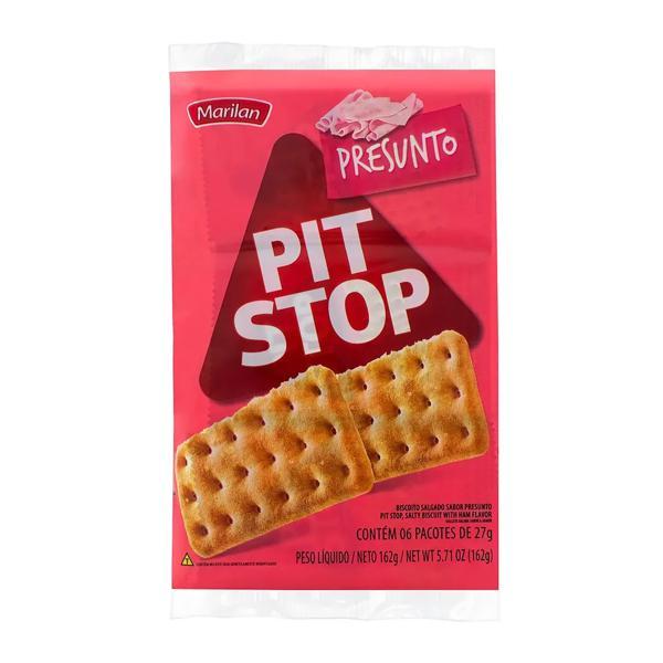 Biscoito PIT STOP Marilan Presunto 162g