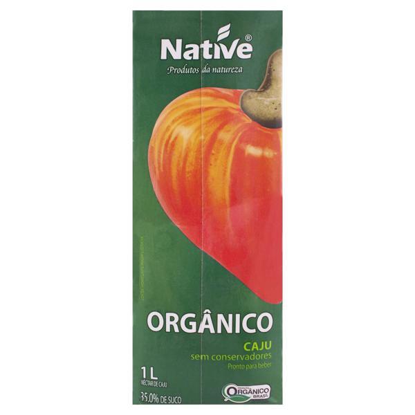 Néctar Orgânico Caju Native Caixa 1l