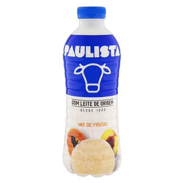 Bebida Láctea Fermentada Mix de Frutas Paulista Garrafa 850g