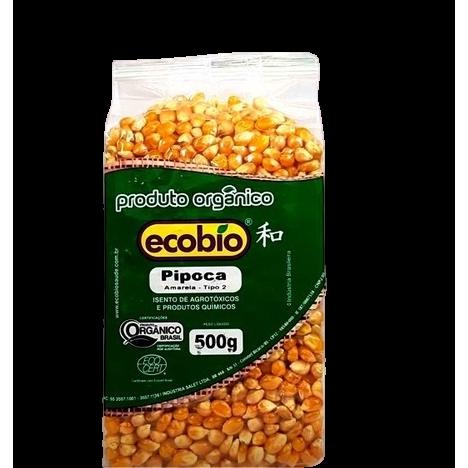 Milho de Pipoca A Vácuo Ecobio 500g