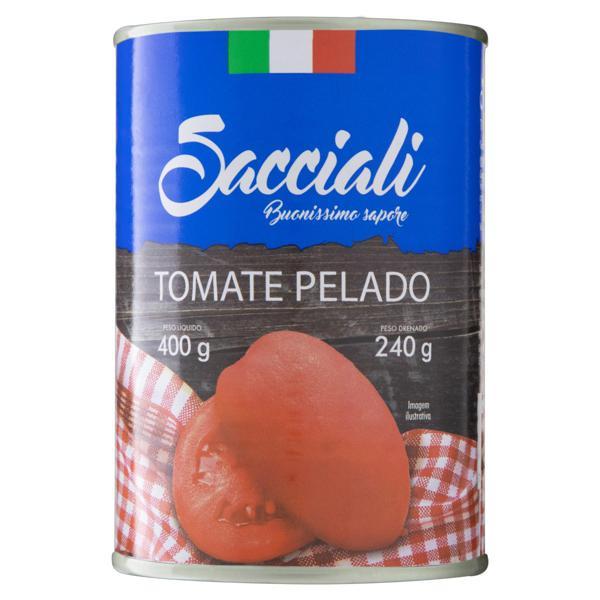 Tomate Pelado Sacciali Lata 240g