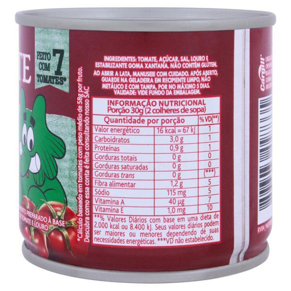 Extrato de Tomate com Louro Elefante Lata 130g