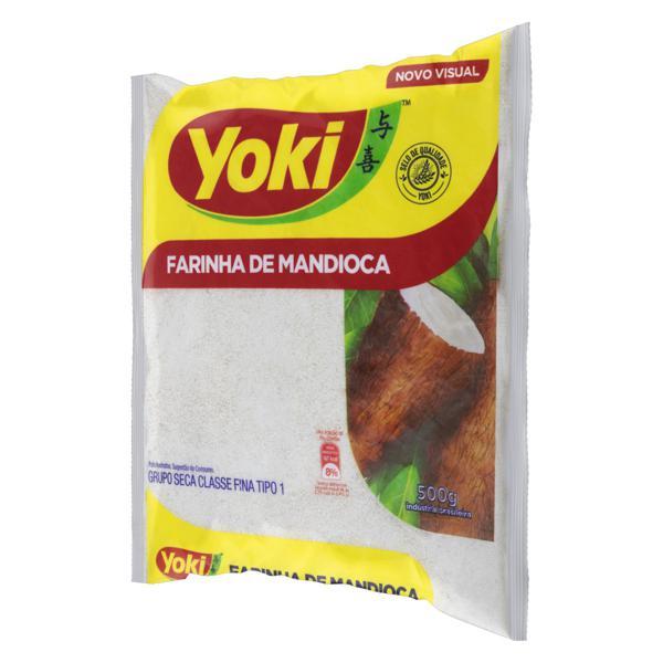 Farinha de Mandioca Tipo 1 Yoki Pacote 500g