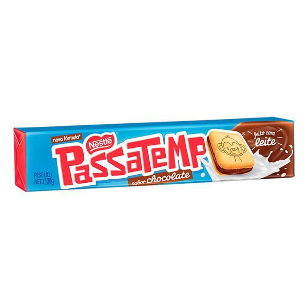 Biscoito Recheio Chocolate Nestlé Passatempo Pacote 130g