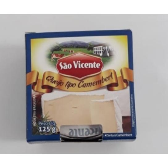 Queijo Camembert 125g - São Vicente