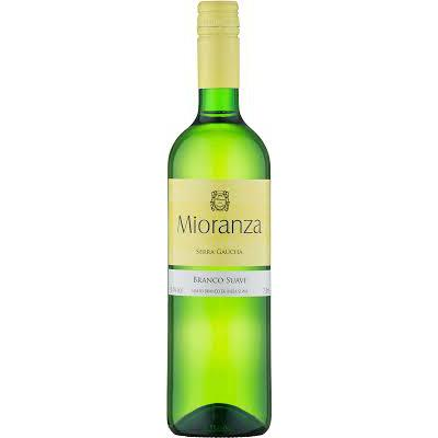Vinho Brasileiro MIORANZA Branco Suave 750ml