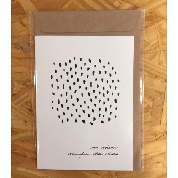 Cartão Coisas Simples - Anna Cunha