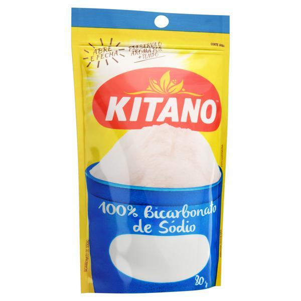 Bicarbonato de Sódio Kitano Pouch 80g