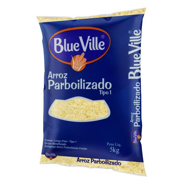 Arroz Parboilizado Tipo 1 Blue Ville Pacote 5kg
