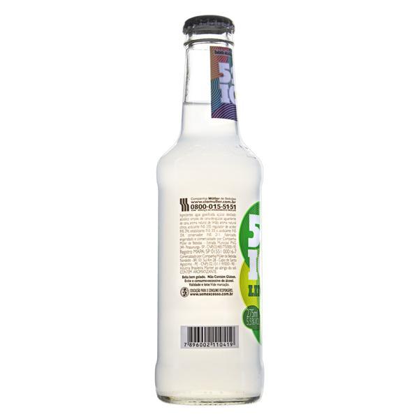 Bebida Mista Alcoólica Gaseificada Limão 51 Ice Garrafa 275ml