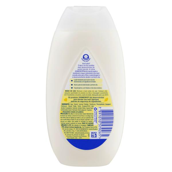 Loção Hidratante Johnson's Recém-Nascido Frasco 200ml