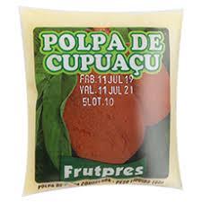 Polpa de Fruta FRUTPRES Integral Cupuaçu 100g