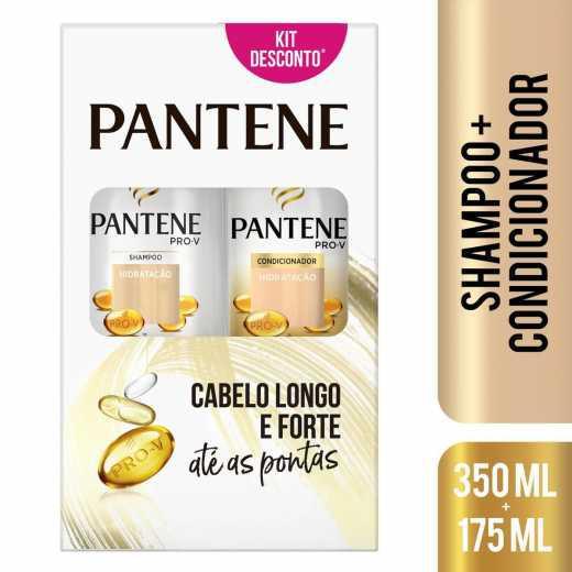 Kit Pantene Hidratação Shampoo 350 ml + Condicionador 175 ml