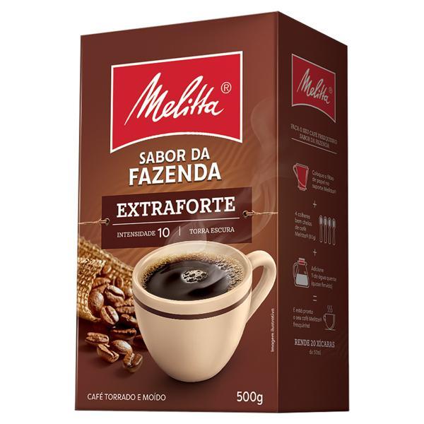 Café Torrado e Moído Extraforte Melitta Sabor da Fazenda Caixa 500g