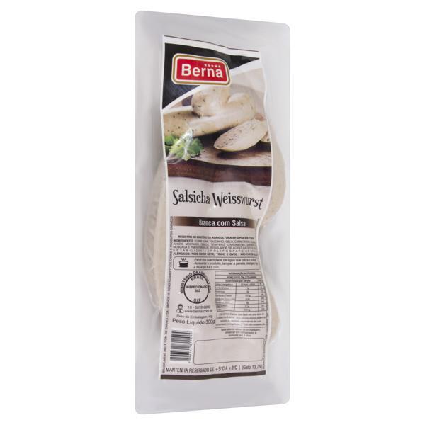 Salsicha Weisswurst Berna 300g