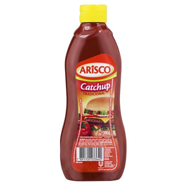 Ketchup Tradicional Arisco Squeeze 390g