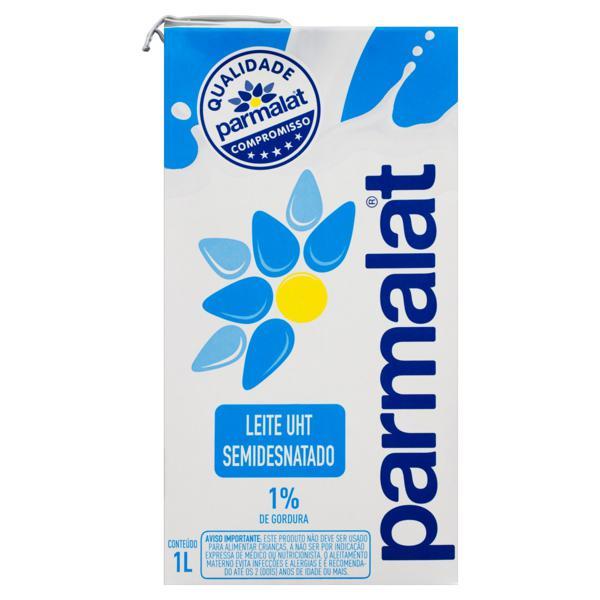 Leite Lv Semidesnatado Parmalat Caixa 1l
