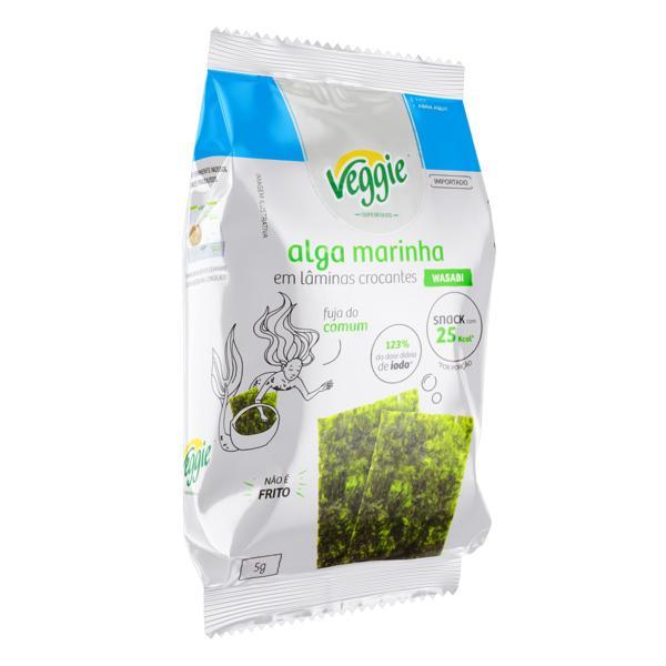 Snack Alga Marinha Wasabi Veggie Pacote 5g