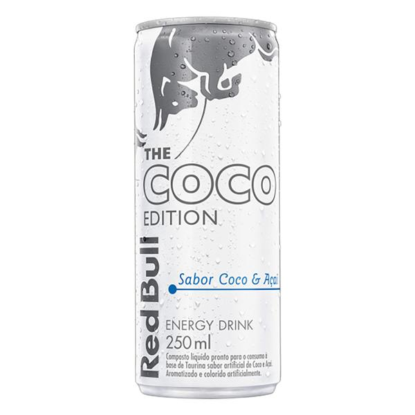 Energético Coco e Açaí Red Bull Lata 250ml