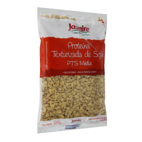 Proteína Texturizada de Soja Média Integral Jasmine Pacote 250g