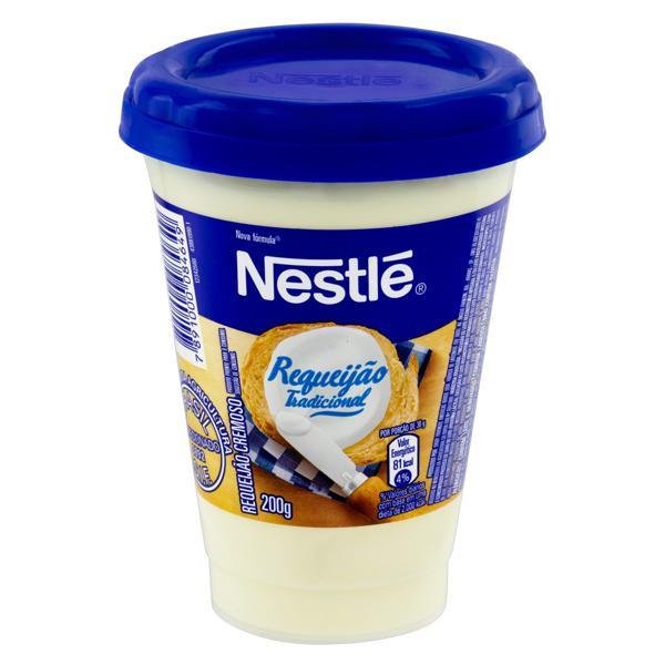 Requeijão Cremoso Tradicional Nestlé Copo 200g