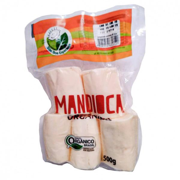 Mandioca descascada refrigerada (pacote - 500g)