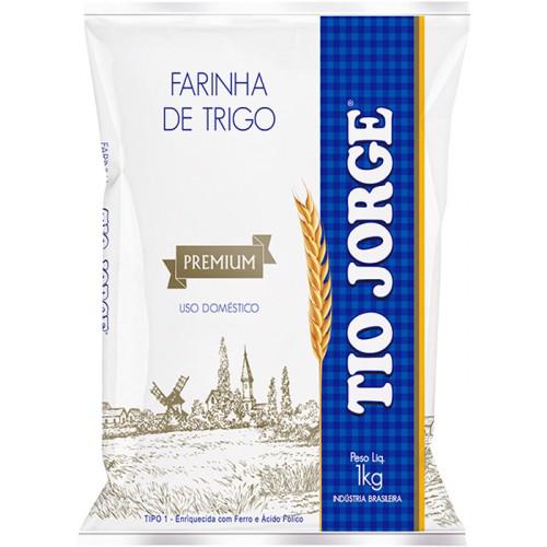 Farinha de Trigo Premium Tio Jorge 1kg