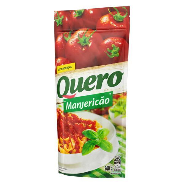 Molho de Tomate com Manjericão Quero Sachê 340g