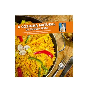 Livro a Cozinha Natural de ANGELA FESTA