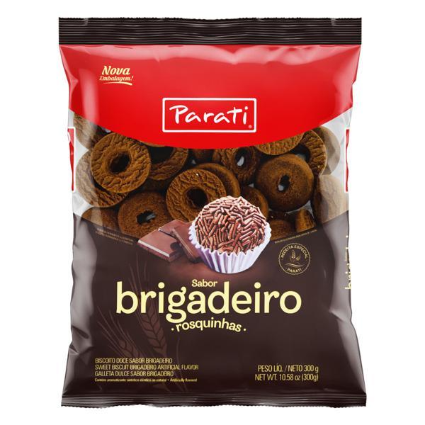 Biscoito Rosquinha Brigadeiro Parati Pacote 300g