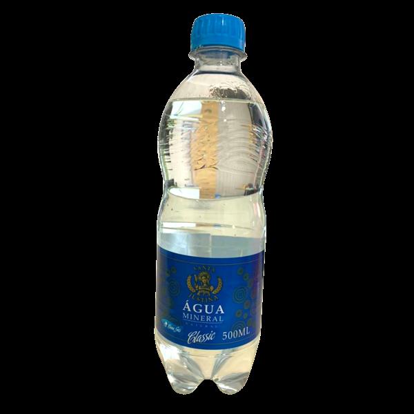Água Mineral Santa Justina com Gás 500ml