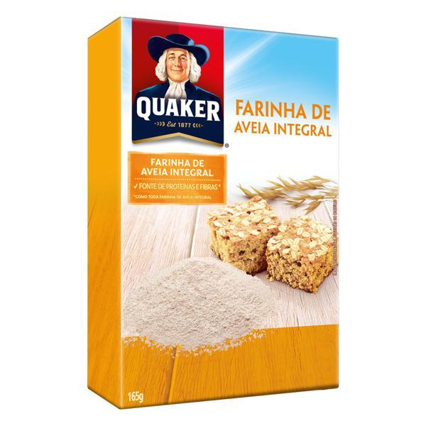 Farinha de Aveia Quaker Caixa 165g integral