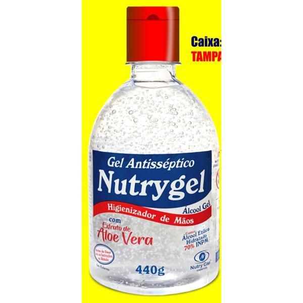 Álcool Nutry Cap 440G 70% Inpm Gel