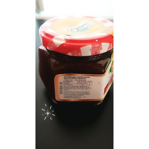 Geleia de frutas vermelhas com pedaços 180g