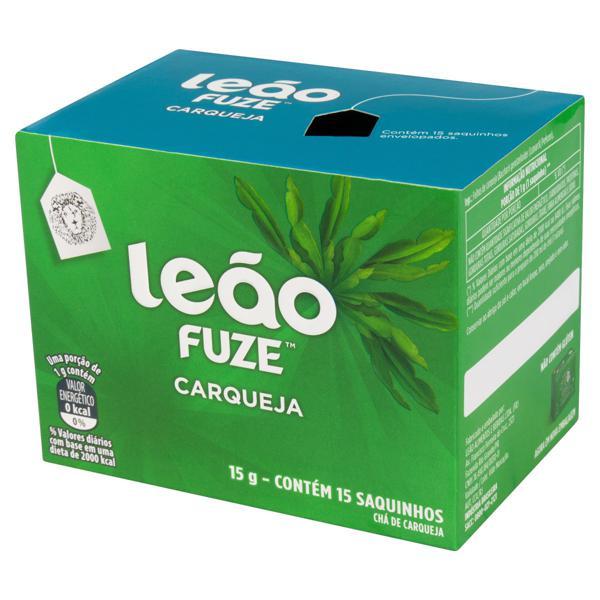 Chá Carqueja Leão Fuze Caixa 15g 15 Unidades