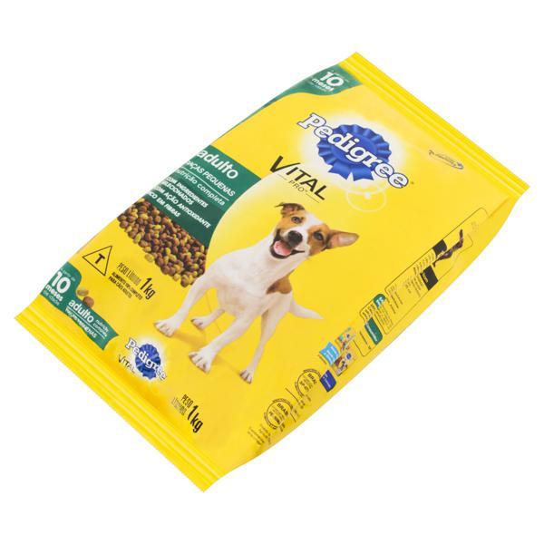 Alimento para Cães Adultos Raças Pequenas Pedigree Vital Pro Pacote 1kg
