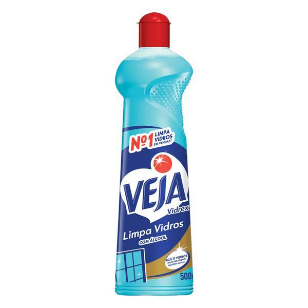 Limpa-Vidro Líquido Veja Vidrex Squeeze 500ml