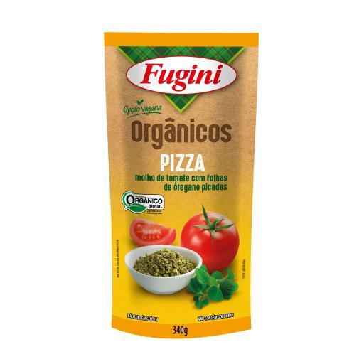 Molho de tomate sabor pizza Fugini 340g