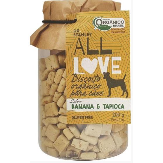 Biscoito Orgânico para Cães Banana & Tapioca 200g - Dr. Stanley