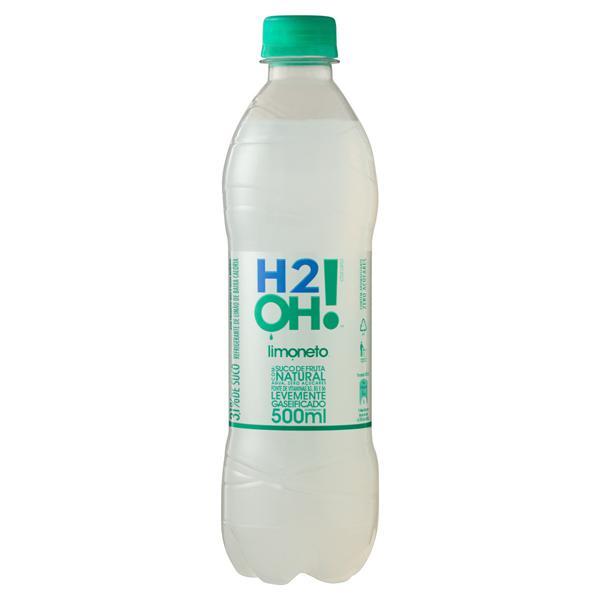 Refrigerante Limoneto Zero Açúcar H2OH! Garrafa 500ml