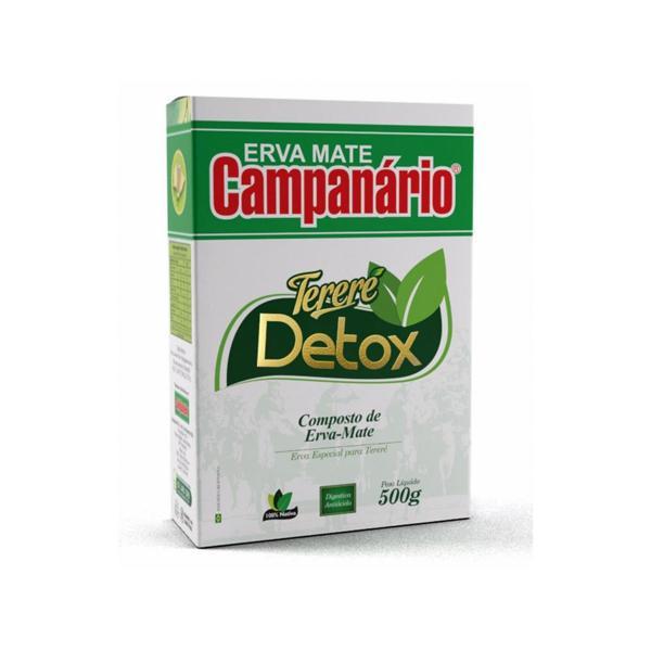 Erva Mate Campanario Terere Detox 500G